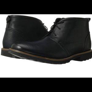 Men's black Rockport dress boots
